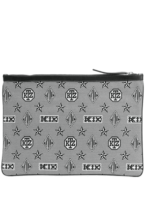 KTZ monogram laptop cover - Black