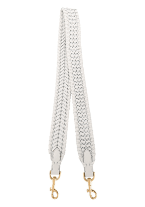 Anya Hindmarch woven shoulder strap - White