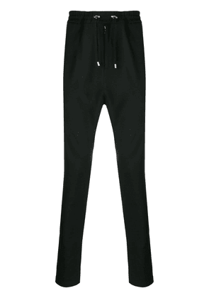 Balmain tapered leg trousers - Black