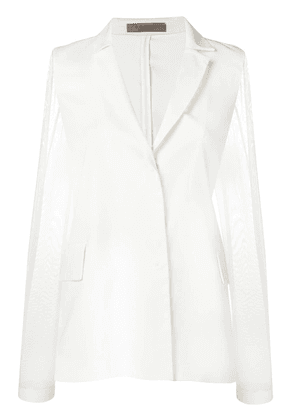 D.Exterior lightweight jacket - White