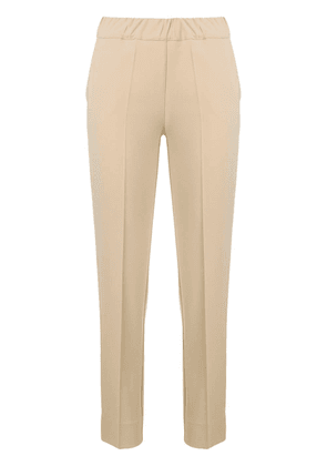 D.Exterior mid rise tailored trousers - Neutrals