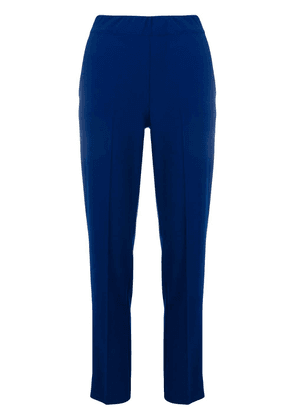 D.Exterior mid rise tailored trousers - Blue