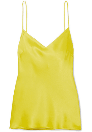 Galvan - Satin Camisole - Yellow