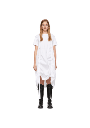 Noir Kei Ninomiya White Ribbon Dress