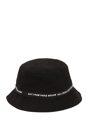 Not From Paris Madame Print Bucket Hat