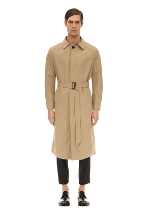 Fine Military Bonded Trench Coat