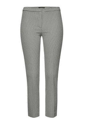 Theory Printed Cotton Skinny Pants