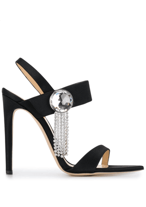 Chloe Gosselin embellished sandals - Black