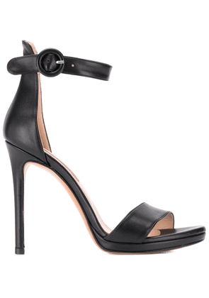 Albano ankle strap sandals - Black