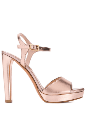 Albano metallic open-toe sandals