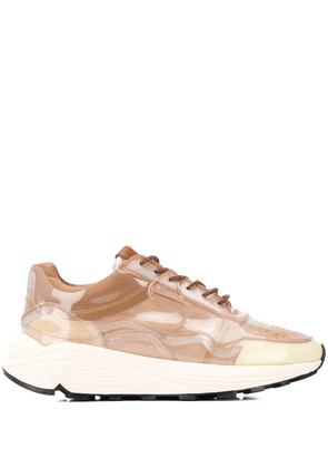Buttero Vinci chunky sole sneakers - Brown