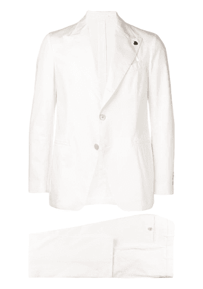 Gabriele Pasini two-piece formal suit - White