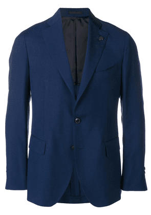 Gabriele Pasini skull detail suit jacket - Blue
