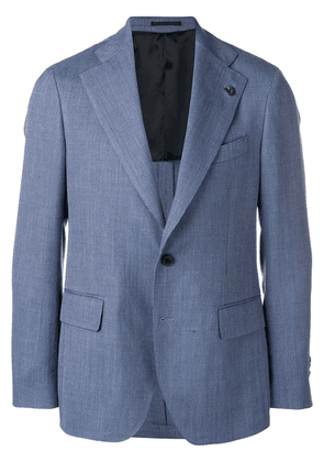 Gabriele Pasini classic tailored blazer - Blue