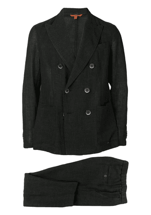 Barena two-piece double breasted suit - Black