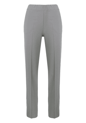 D.Exterior mid rise tailored trousers - Grey