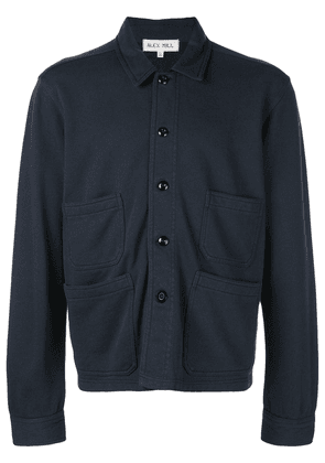 Alex Mill Fleece Workers Jacket - Blue