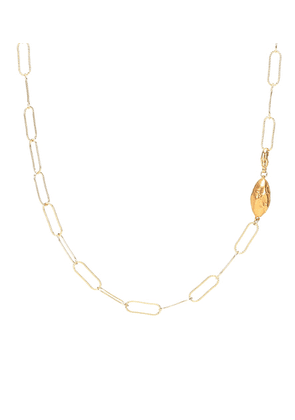 L'Incognito 24kt gold-plated necklace