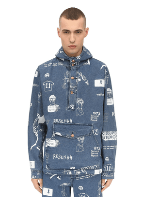 Canadian Tux Hooded Cotton Jacket
