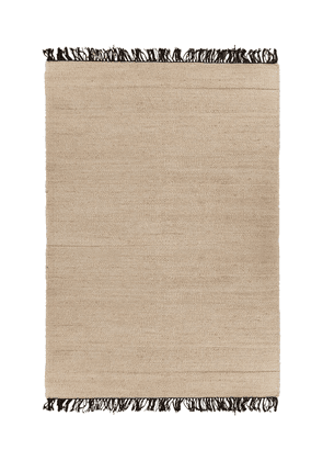 Cocco Handmade Jute Rug With Fringes