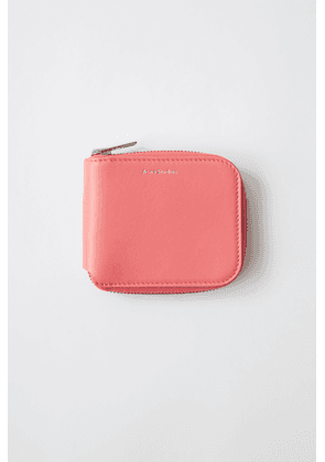 Acne Studios Kei S Bright pink  Compact wallet