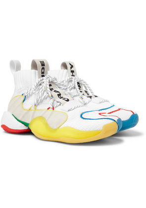 adidas Consortium - + Pharrell Williams Crazy Byw Lvl X Mesh Sneakers - White