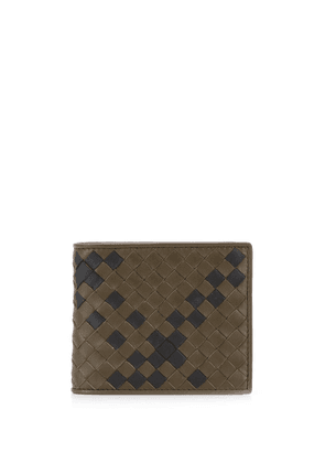 Bottega Veneta woven wallet - Green