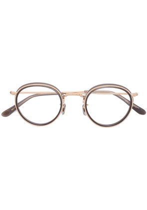 Eyevan7285 round frame glasses - Metallic