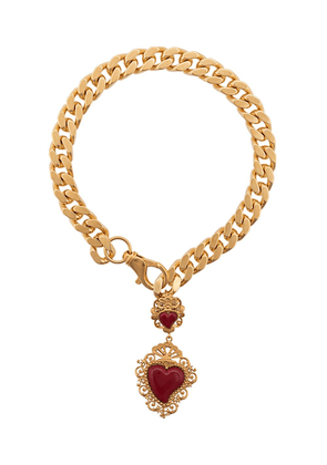 Dolce & Gabbana heart pendant collar necklace - Gold