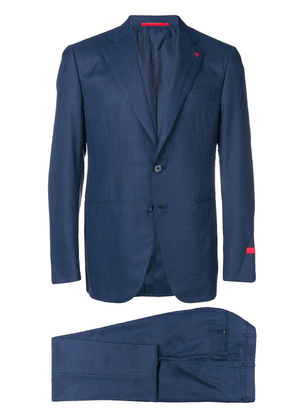 Isaia two-piece formal suit - Blue