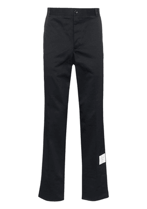 Thom Browne Unconstructed cotton twill trouser - Blue