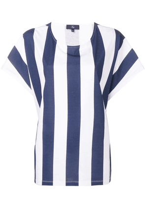 Fay striped top - Blue