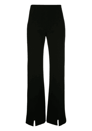 GINGER & SMART Suffuse flared trousers - Black