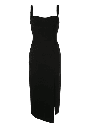 GINGER & SMART Suffuse fitted midi dress - Black