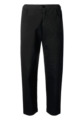 Barena cropped slim-fit trousers - Black