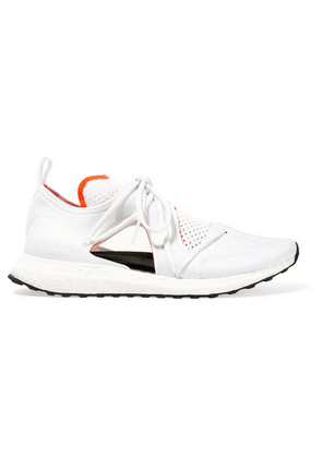 adidas by Stella McCartney - Ultraboost T Cutout Neoprene And Primeknit Sneakers - White