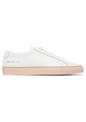 Common Projects - Achilles Leather Sneakers - White