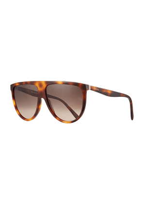 Men's Flattop Shield Sunglasses