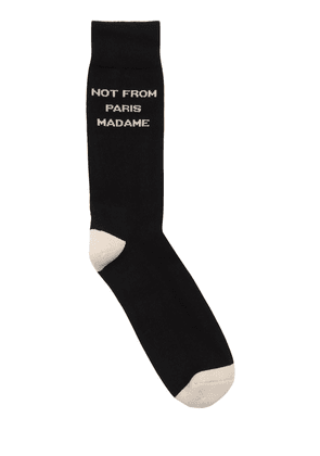 Not From Paris Madame Socks