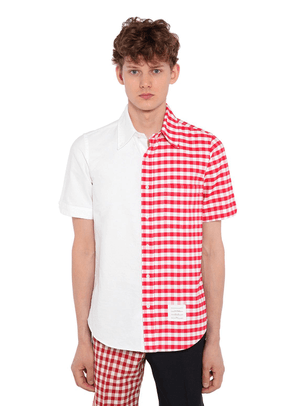 Bicolor Button Down Shirt