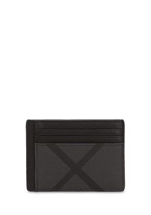 London Check Credit Card Holder