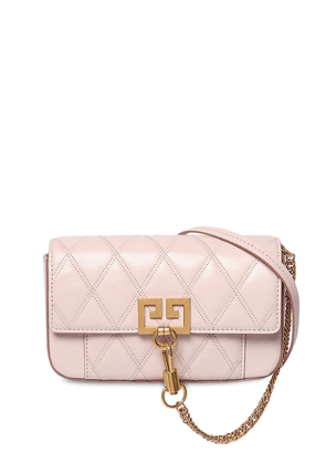 Mini Pocket Quilted Leather Shoulder Bag