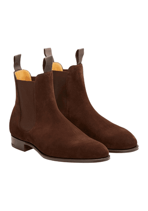 Mink Suede Newmarket Chelsea Boots