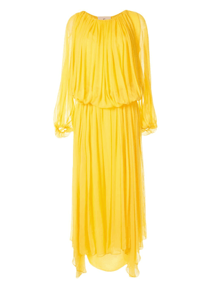 By. Bonnie Young Marigold flare dress - Yellow
