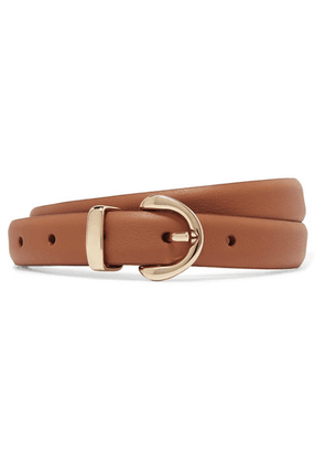 Anderson's - Textured-leather Belt - Tan