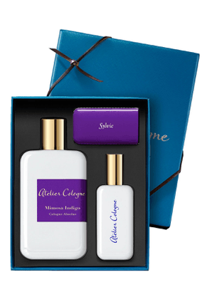 Exclusive Mimosa Indigo Cologne Absolue, 200 mL with Personalized Travel Spray, 1.0 oz./ 30 mL
