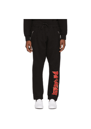 Baja East Black Rollin' With The Homies Lounge Pants