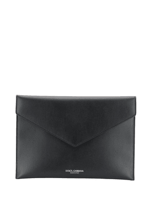 Envelope Clutch With Engraved Logo