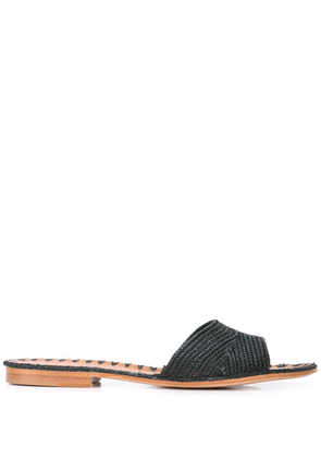 Carrie Forbes Fati woven sandals - Blue