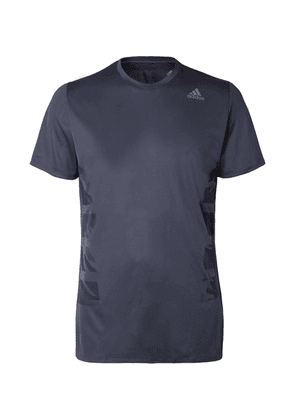 Adidas Sport - Supernova Slim-fit Climalite Running Top - Blue